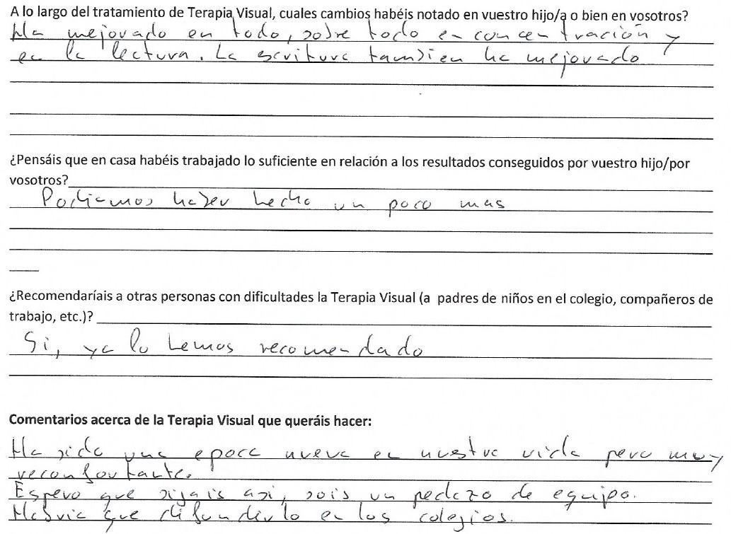 Testimonio Tomás Rocha Visión A.