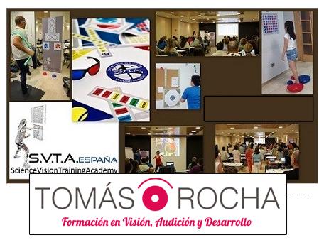 Curso Entrenamiento Visual aplicado al Aprendizaje y al Deporte Tomás Rocha Formación