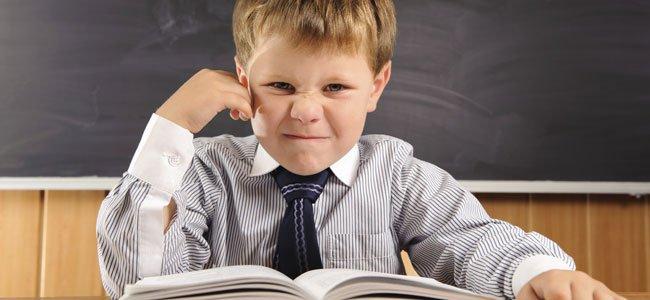 Mi hijo se pierde cuando lee