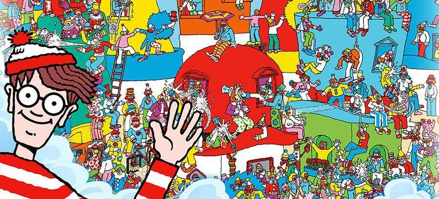 Buscar a Wally - Mejorar la visión