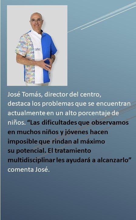 José Tomás habla de la visión en la vuelta al cole