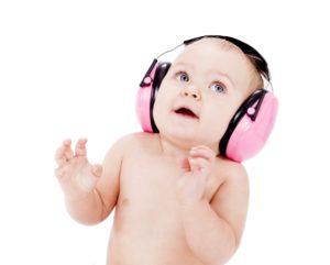 El procesamiento auditivo en bebés