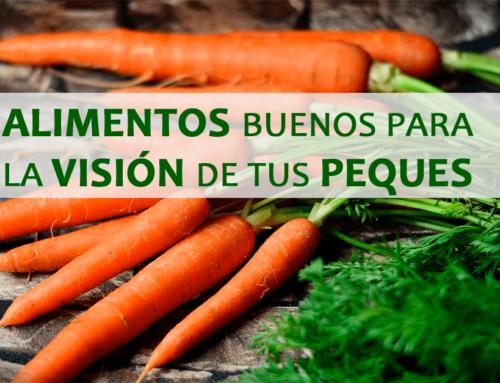 5 Alimentos buenos para la visión de los tuyos