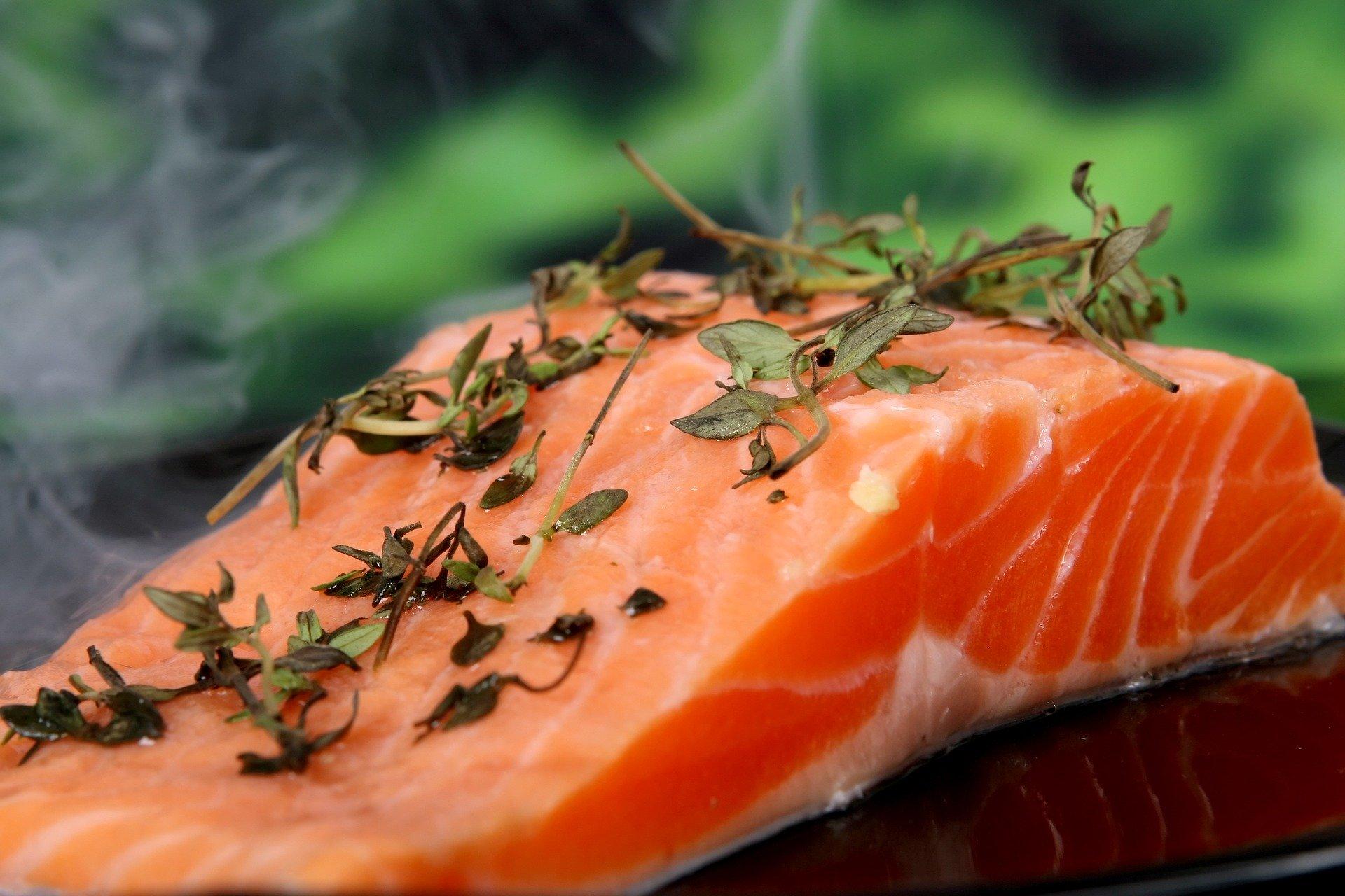 Pescado, alimentos buenos para la visión