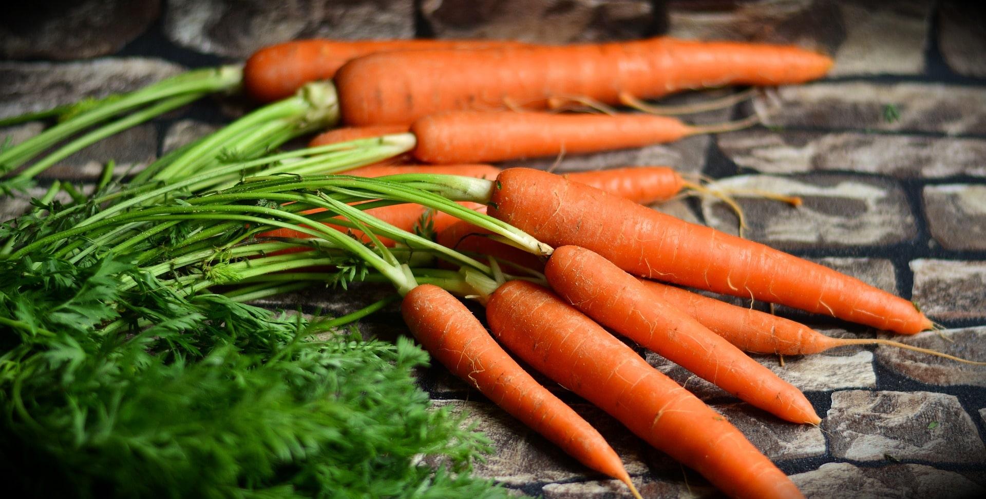 Zanahorias, alimentos buenos para la visión